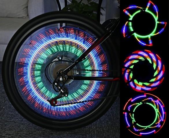 Gekleurde LED Fietsverlichting uitvoorraad leverbaar