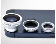 4-in-1 lenzenkit voor smartphone of tablet