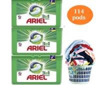 Maar liefst 114 Ariel 3 in 1 Pods - Regular