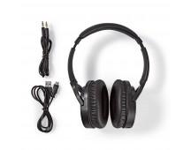 Draadloze hoofdtelefoon | Bluetooth® | Over-ear | Actieve ruisonderdrukking (ANC) | Zwart