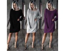 Soepel vallende jurk gratis verzonden