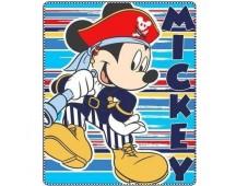 Fleecedeken Mickey Mouse uit voorraad leverbaar!