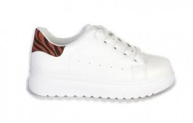 Hippe sneakers met zebra print uit voorraad leverbaar!