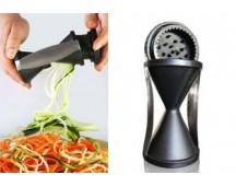 Spiraal- en juliennesnijder voor groenten