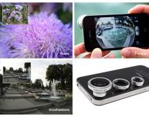 3-in-1 lenzenkit voor smartphone of tablet-single