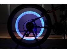 2 LED fietswiel lampjes
