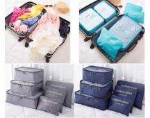 6 delige set Packing cubes