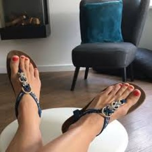 Slippers model Evy