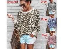Leopard sweater in 4 kleuren